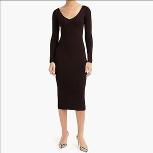 NWT J. Crew Collection Ribbed Sweater Dress